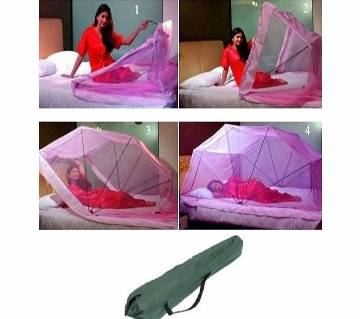 Push & Pull Fold adult Mosquito Net for Single Bed