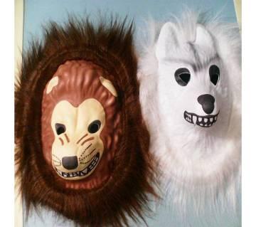 Soft Mask-সিংহ ও শিয়ালের মুখোশ ২টি