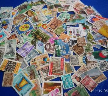 70 Different Bangladesh Stamp Collection