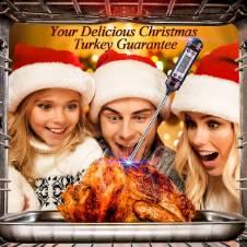 Digital food meat Liquid thermometer