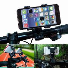 Bicycle Phone Holder with Support Stand