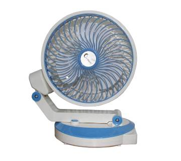 Supermoon Rechargeable Tabale Fan with Light