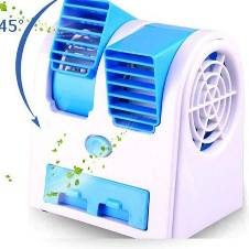 Portable Mini USB Double Outlet Air Conditioner