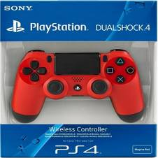 Dualshock 4 Wireless Controller Red