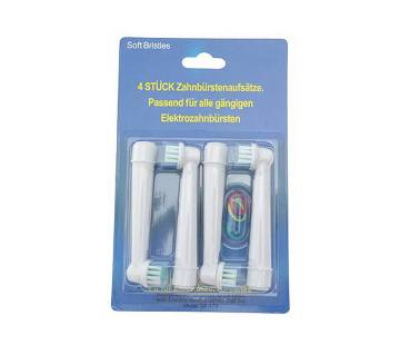 Soft Rubber Electric Toothbrush Heads