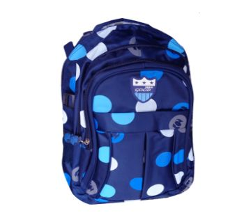 School Bag  smart Backpack For Girls and Boys  Navy