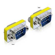 9 Pin Gender Male to Male Adapter