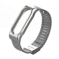 Xiaomi Strap For Xiaomi Band 2 Metal Bracelet - Silver