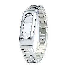 Xiaomi Mi Band 2 Stainless Steel Bracelet Strap - Silver