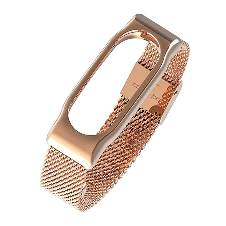 Mi Band 2 Stainless Steel Strap - Rose Gold
