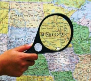 50 mm Magnifying Glass - Green and Yellow
