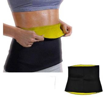 Slimming Hot Shaper Belt - Black and Yellow