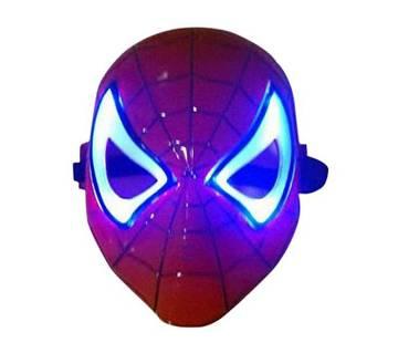 LED Spider Man Mask - Red