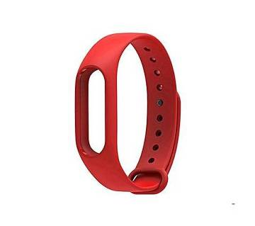 Mi Band 2 Silicone Strap - Red