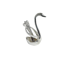 Swan স্পুন সেট (6pcs) - Silver