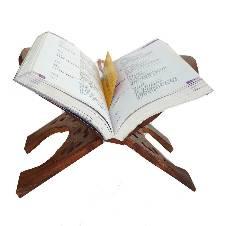 Wooden Book Reader Stand