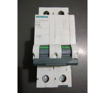 40A to 63A, DP MCB, Siemens