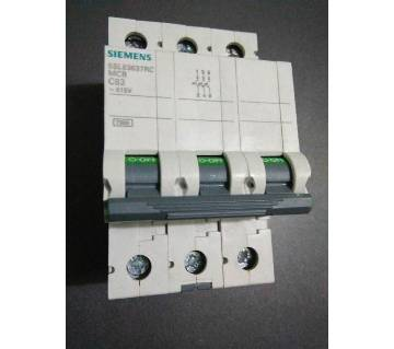 40A to 63A, TP MCB, Siemens