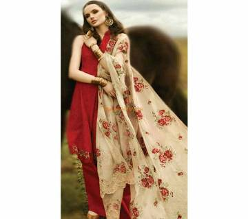 ZARA SHAH JAHAN Unstitched Embroidered Lawn Ghazal Collection Three pcs - Copy
