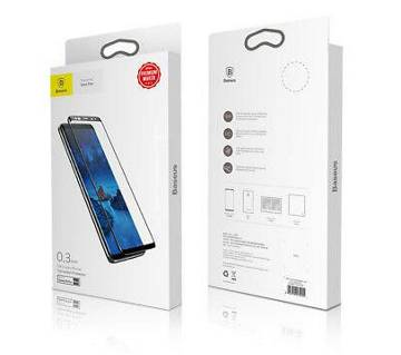 Baseus 3D Tempered Glass Full Screen Protector For Samsung Galaxy S9 Plus