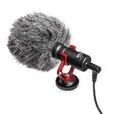 Boya Universal Shotgun Microphone for Smartphone and DSLR Camera