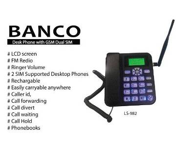 BANCO Dual SIM Phone LS-982