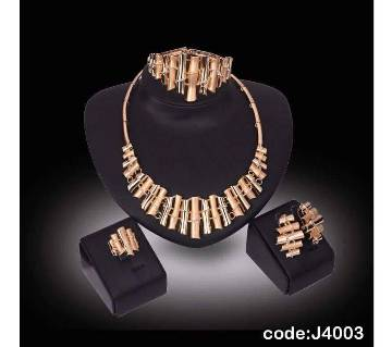 Gold Plated Jewelry Set for Women