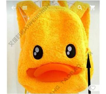 💥Super Cute Yellow Duck Plush Lovely Backpack 💥