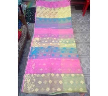 Half Silk Jamdani Shari