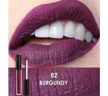 FOCALLURE Matte Liquid Lipstick #02 Burgundy China