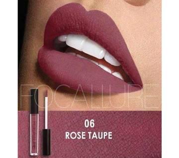 FOCALLURE Matte Liquid Lipstick #06 Rose Taupe China
