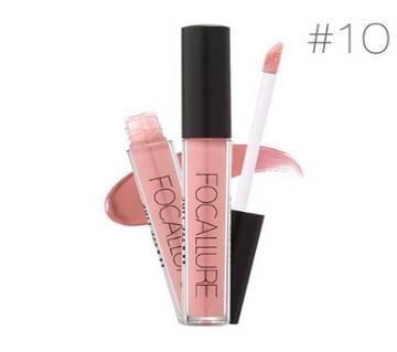 FOCALLURE Matte Liquid Lipstick #10 Ruddy Pink China