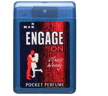 Engage Classy Woody pocket perfume 18ml