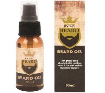 BY MY BEARD Beard Oil 30ml UK