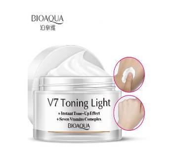 BIOAQUA V7 Toning light cream China