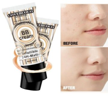 Covercoco Repair BB Cream Nude Makeup Clear Concealer Foundation Sunscreen Moisturizing 30SPF Moisturizing Lasting 24H Cream