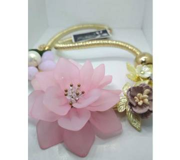 Floral Neckless - Pink from Thailand
