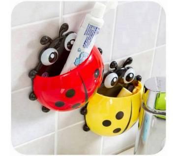 Creative Cute Ladybug Toothbrush Holder-QB-235