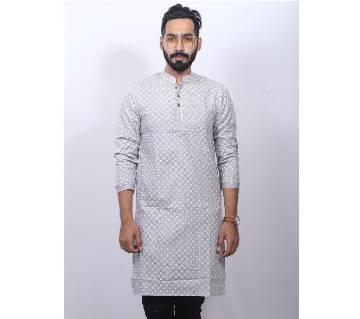 Check Printed panjabi for men