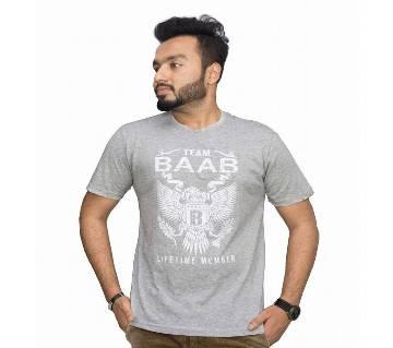 Grey BAAB T-shirt for men
