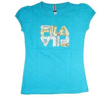 Fila Cotton Girls T Shirt