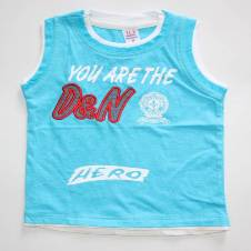 Sky blue Soft Boys Baby Tshirt
