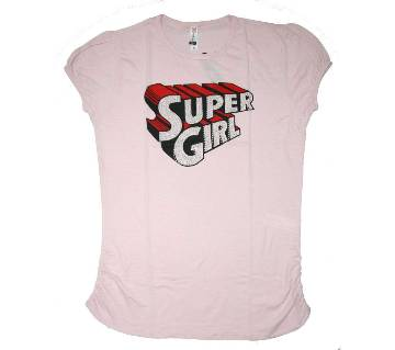 Super Girl Ladies T Shirt