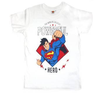 Superman Boyz kids Cotton Round Neck T-Shirt