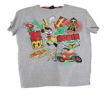 Kids Boys Cotton T-Shirt