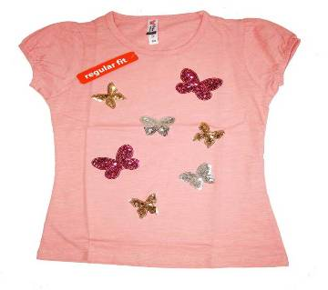 Attractive Butterfly Girls Tshirt