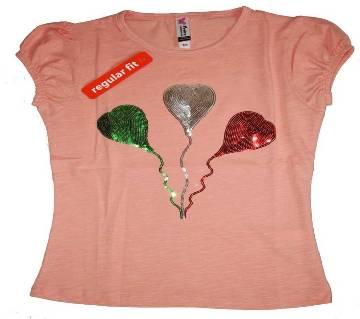 Attractive Baloon baby Girls Tshirt