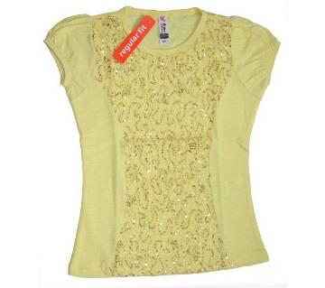 Cotton Net Girls T-Shirt