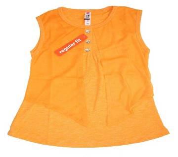 Sleeveless Baby Girls T-Shirt