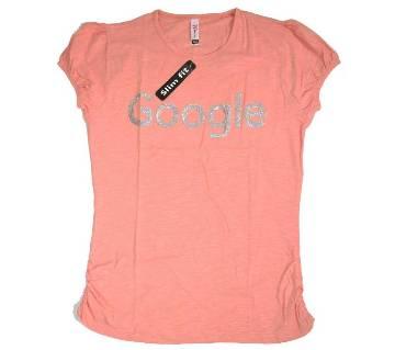 Google Cotton Ladies T-Shirt